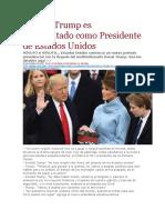 LA PAGINA - Donald Trump Es Juramentado Como Presidente de Estados Unidos - 20 01 2017