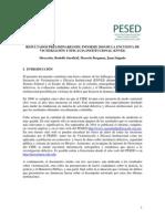 Resultados preliminares del Informe 2010 de la Encuesta de Victimización y Eficacia Institucional (ENVEI)