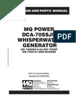 MQ Power DCA-70SSJU