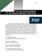 AUN Agreement Form