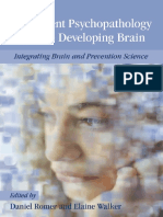 Adolescent Psychopatology and Developing Brain
