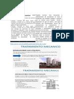 tratamiento mecanico