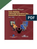 Permen Kominfo 41 Dan Buku Panduan Tata Kelola TIK