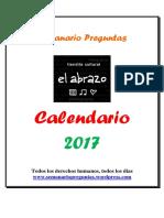 Calendario Preguntas 2017
