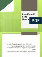 A04 Planificación de Operaciones
