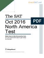 1610 No Math Www.cracksat.net Oct 2016
