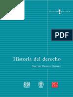 Beatriz Bernal Gómez - Historia Del Derecho
