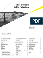 Doing Business in the Philippines 2009 (Apr2010)