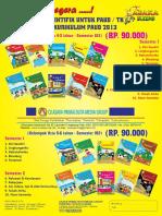 0812-8943-9319 Katalog & Brosur Buku Paud Dan Tk Kurikulum 2013 Tahun 2017 ( Penerbit Asaka Prima)