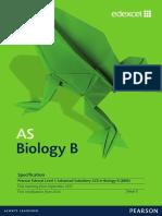 As Biology Syllabus