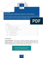 Commercialising Intellectual Property Joint Ventures 0