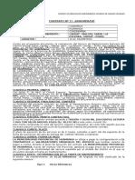 modelos Contrato u Orden de Compra o de Servicio