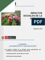 Responsabilidad Social Impactos Sociales de La Actividad Minera
