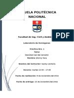 Informe Densidad Real Del Cemento