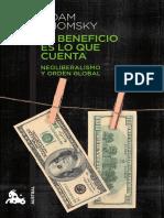 El beneficio es lo que cuenta - Noam Chomsky.pdf