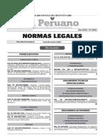 Legislacion Peruana Del 23 de Enero Del 2017