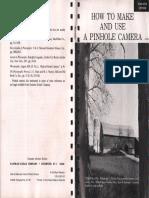 Kodak Pinhole Booklet