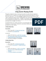 Selecting Your Brewing System V1.1