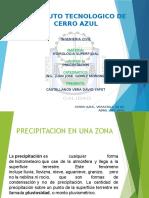 Hidrologia Superficial, Precipitacion e Una Zona