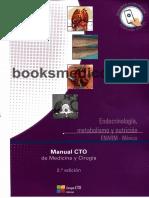 Manual CTO Endocrinologia, Metabolismo y Nutricion