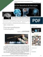 Neurociências Em Benefício Da Educação!_ Neuropsicopedagogia (Informações)