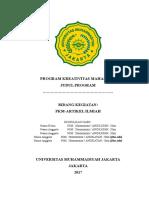 Kerangka Proposal PKM AI 2017
