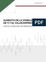 Revista Incrementa La Visibilidad de TI y Su Valor Al Negocio Con Un Catalogo de Servicios