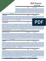 IEA Report 25th January