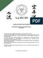 Prog Tecnico Karate2010
