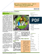 Household Income and Expenditure Survey 2012-13 Sri Lanka
