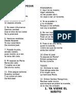 Letras de Los Villancicos