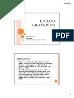 Budaya Organisasi Handout