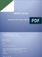 6 - ADP_Array (Larik) - Copy