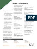 SGS Life 661 Info Sheet