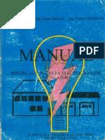 55267571 Manual Pentru Autorizarea Electricienilor Instalatori Ed 1995 (1)