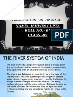 Drainage Systemof India