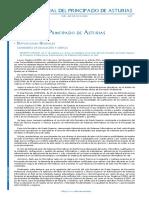 B.O.P.a. Donde Se Regula El Currículo Del Principado de Asturias Para El C.F.G.S. Administración de Sistemas Informáticos en Red