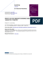 van den Berg - Proclus on Hesiod´s Works and Days and didactic poetry.pdf