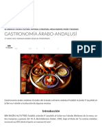 Gastronomía árabo-andalusí | paginasarabes