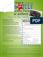 Freedom Parade Flier 10