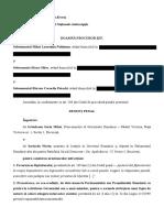 Denunț penal împotriva Prim-ministrului și ministrului Justiției în legătură cu ordonanțele de urgență privind grațierea și modificarea codurilor penale