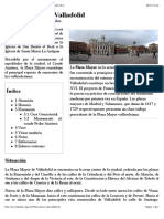 Plaza Mayor de Valladolid - Wikipedia, La Enciclopedia Libre