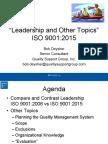 Leadership Qtrly Mtg Sept 2015