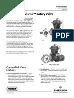 Fisherr Control-Disk™ Rotary Valve