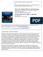 Survival Volume 50 Issue 6 2008 [Doi 10.1080%2F00396330802601826] Arel, Dominique -- Ukraine Since the War in Georgia