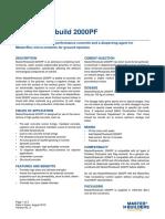 BASF MasterRheobuild 2000PF Tds