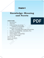 Chap 4 Knowledge Meaning and Facets (1)
