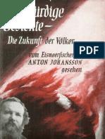 Johansson, Anton - Merkwürdige Gesichte - Die Zukunft Der Völker (1953, 309 S., Text)