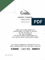 Cessna 150 1970-77 PartsManuals
