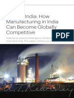 How Manufacturers Become Global Competitors